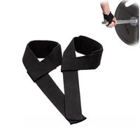 Wholesale 1 Pair High Quality Weightlifting Training Gym Straps Hand Bar Wrist Support Hand Bar Straps For Weight Lifting