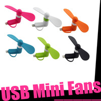 android list - 2016 New Listing Combo Apple Android USB Portable Fan Small Gifts Manufacturers A Variety Of Colors