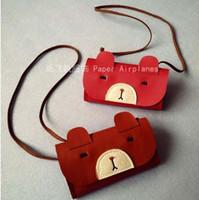 bear coin purse - KIKIKIDS Fashion Baby Girls Coin Purses Handmade Kids Purses Handbags Girl Tassel Bag Lace Bear bag KIKIKIDS
