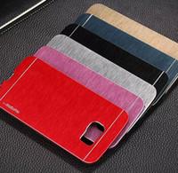 Wholesale Luxury Motomo Aluminum Burshed Metal Slim SLATE Hard Case Cover for iPhone Plus Samsung Galaxy S7 S6 edge A7 J5 J7 Note MOQ