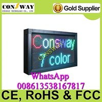 approved windows - and CE approved advertising led window screen sign with size mm and RGB color