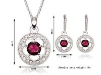Wholesale 1 Creative Natural Gemstone Fashion Jewelry Set Bridal Jewelry Set Earrings Necklace Set For Any Occasion