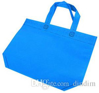 Wholesale 32 Promotional Gift Items Shopping Bag Custom Logo Printing Bolsas Reusables Non Woven Shopping bags Free Post