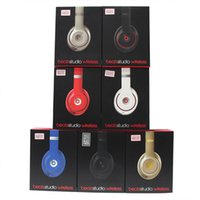 Wholesale Amazing Used Beats Studio Wireless Headphones Noise Cancel Headphones Refurbished Headset with seal retail box DHL