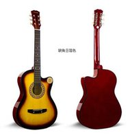 Wholesale Mr Mo inches folk guitars acoustic guitar beginners introduction to practice the guitar musical instrument to send a full set of accesso