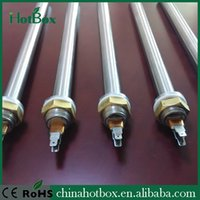Wholesale Heating element cartridge heater V KW dia mm x length mm Thread NPT1 quot with K type thermocouple