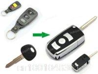 Wholesale 3 Button Remote Flip Folding Key Shell Fob Keyless Case Fit For Kia Cerato Optima Rio Rondo car