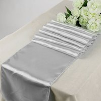 Wholesale Home Garden quot x quot Satin Table Runner Wedding Party Venue Decorations Available for Shipment Exclusively within the U S