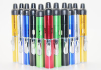 Wholesale click n vape sneak a vape lighter herbal vaporizer smoking pipe Trouch Flame lighter With Built in Wind Proof Torch lighters for Glass Bong