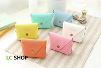 american candy pack - Sweet candy color small coin purse bag key bag Creative marca dragon hand bag Independent packing PET box