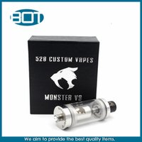 Wholesale Kayfun Monster V3 RBA High Quality Hottest Rebuildable Atomizer Tank Monster V3 With Two Drip Tips