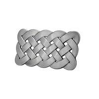 Wholesale Yanghair Adult Unisex Celtic Knot Mesh Design Medieval Belt Buckle Silver Western Cowboy Fashion Gifts for Women s