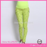 Wholesale New Spring Fashion Maternity Pants Full length Little Cat Pattern Trousers Casual Pants For Pregnant Women Maternity Clothes