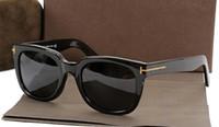 al por mayor los hombres gafas de sol polarizadas originales-estilo de diseño marca de gafas de acetato para las mujeres los hombres de las lentes de sol polarizadas gafas de sol 211 con la caja original