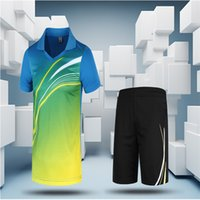 Wholesale High Quality Fashion Badminton Wear Sets Training Gym Jersey Suitable Fitness Clothing Comfortable Warm Perfect Jersey Design L090