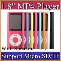 Wholesale 1 inch Screen th mp3 oimp4 Player with card slot radio Voice Recorder colors B MF