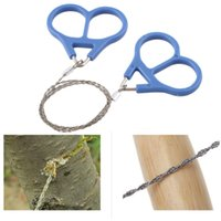 Wholesale Top Quality Pocket Steel Saw Wire Camping Hunting Travel Emergency Survive Tool Stainless