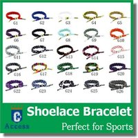 green shoelaces - 26 COLOR GALAXY PRINT CLASSIC BRAIDED SHOELACE BRACELET ENAMEL PLATED METAL ADJUSTABLE CYLINDER AGLETS FEATURING DEBOSSED EMBLEMS