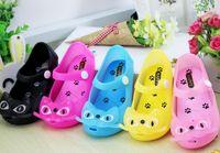 baby boys designer shoes - Kids Sandal Shoes Baby Children Sandal Shoes New Cat Jelly Shoes Fashion Girls Brand Designer Summer Mini Sandals Toddler Shoes Boys