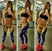 Wholesale Sky digital venezuela flag leggings sexy high elastic panty Personality leggings