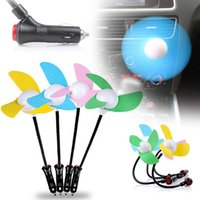 automobile fans - Mini Car Fan Powered Automobile Fan Cigarette Lighter Fan Electric Fan Single Cold Mute Fann V