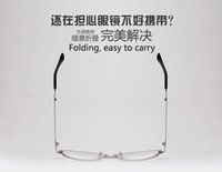 Wholesale New style Folding presbyopic glasses Resin lens Metal frame radiation protection presbyopic glasses special for old man n5030