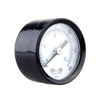 Wholesale 0 bar psi Mini Dial Air Pressure Meter Gauge Double Scale Piezometer With Stable Performance