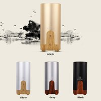 Wholesale 2016 New Nanum Car Plug Air Humidifier Purifier Vehicular essential oil ultrasonic humidifier Aroma mist car fragrance Diffuser