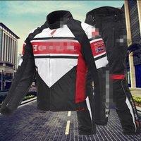 Wholesale Men motorcycle racing suit jacket pants set with cotton liner warm clothes winter outdoor Waterproof motorcycle Racing Sets