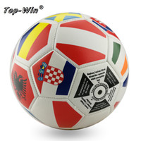Wholesale Premium outdoor sports WORLD CUP machine sewn COUNTRY SOCCER BALL SIZE country flag CUP Futbol