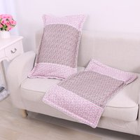 Wholesale Home textiles household contracted fashion stitching pillowcase Cotton pillowcase bedding manufacturers Pillow Case