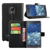 alpha business - Hot selling adult business phone case black leather wallet case cover for Samsung galaxy Grand Prime Core prime Max Note edge Mega Alpha