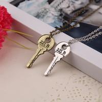 apartment key - Movie Sherlock Holmes Jewelry Key Necklace The Abominable Bride Sherlock Pendant Apartment Key Necklace Sherlock Holmes NO CHAIN