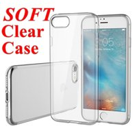 Wholesale Crystal Gel Case Ultra Thin Transparent Soft TPU Clear Cases For Iphone7 iPhone Case Samsung Note S7