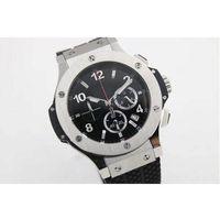auto battery store - Hotsale supplier store styles Luxury Brand watches men big bang sillver case watch quartz sports chronograph Watch Mens dress Watches
