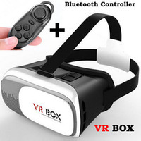 Wholesale Google Cardboard VR BOX VR CASE V2 VR BOX II D Virtual Reality Glasses Rift DK2 Goggles Controller