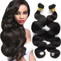 Wholesale Unprocessed Body Wave Brazilian Hair With Closure Cheap Bouncy Romance Curls Brazilian Fumi Human Hair Weaves Bundles Lace Closures Piece