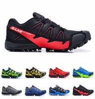 Wholesale 2015 Hot Selling Salomons S Lab Fellcross Mens Running Shoes Red Blue Black Yellow Men s Leisure Athletic Shoes Size