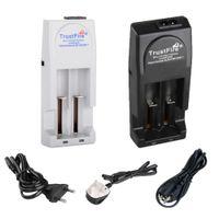 Wholesale US EU UK Plug Original TrustFire TR001 Multifunctional Smart Li ion Battery Charger For Battery