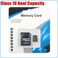 Wholesale Fast Speed Class Real Capacity GB GB GB GB Memory Cards Micro SD TF Card With Adapter tested Full Capacity all test By H2testW