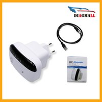 Wholesale Free Wireless N Wifi Repeater N B G Network Router Range Mbps Signal Antennas Booster Extend Wifi for Enterprise EU US