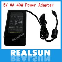Wholesale 40W Power Supply Wall Charger Adapter AC V to DC V A Converter EU US UK AU Plug High Quality