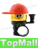 Wholesale LAI Cute Cartoo Fashion Bike Bicycle Cycling Hat Ring Alarm Metal Handlebar Bell Cap Horn Bicycle Bell Free