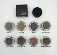 Wholesale HOT Pomade Medium Brown Waterproof Makeup Eyebrow g Blonde Chocolate Dark Brown Ebony Auburn Medium Brown TALPE gift