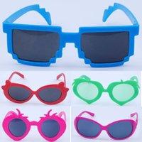 baby designer sunglasses - Fashion Kids Child Sunglasses Sports Sun Glasses Cartoon Sunglasses Baby For Girls Boys Outdoor Designer Glasses Styles Free Ship S1024