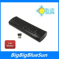 Wholesale MX3 GHz Wireless Keyboard Air Mouse Remote Controller Somatosensory IR Learning Axis without Mic for Android TV Box Smart IPTV Google