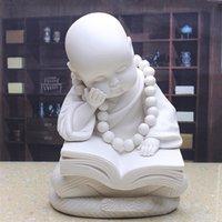 arte china - Li Pin Dehua arte cerâmica presentes criativos e ornamentos de porcelana branca jóias início mobiliário não escondida no livro