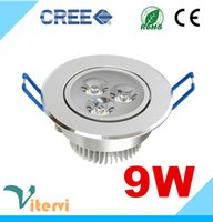 bathroom installations - High power CREE LED downlight W LEDS AC85 V Ceiling light Indoor spotlight embedded installation