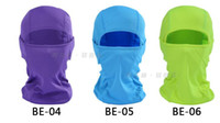 Wholesale New Facial Mask Unisex Pure Riding Helmet Riding Protective Headgear Breathable Sandproof Windproof Quick Dry Soft Cycling Face Mask MZ69