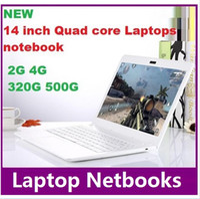 Wholesale 2016 Hot NEW inch Duar core laptop GB GB Win win Itel Celeron N3050 GHZ N3150 Notebook Computer PC ultrabook X64 laptops